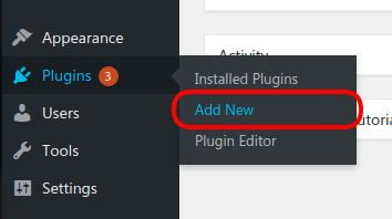 Cara Install Plugin Add New